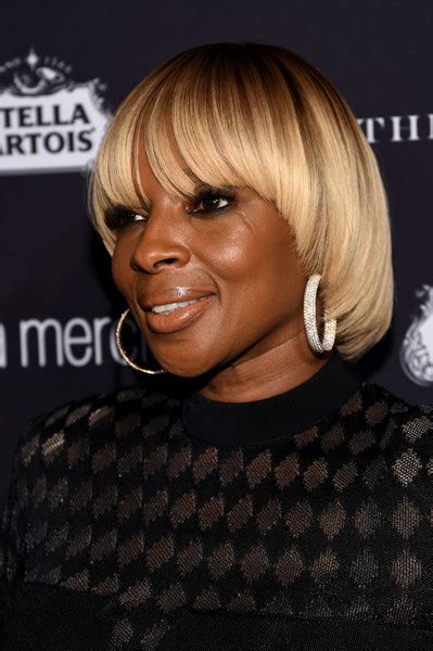 J Blige Hairstyles by J Blige Bowl Cut Hairstyles Lookbook