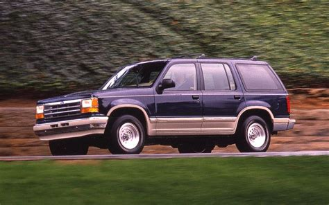 1991 ford explorer first test truck trend