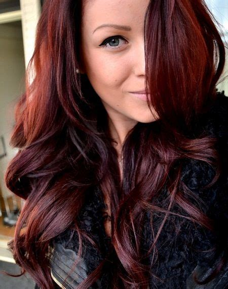 steps to doing burgundy hair with brown and caramel highlights john brown red hair color jpg 450 215 570 pixels burgundy
