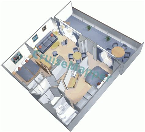of the seas cabin layout independence of the seas cabins and suites cruisemapper