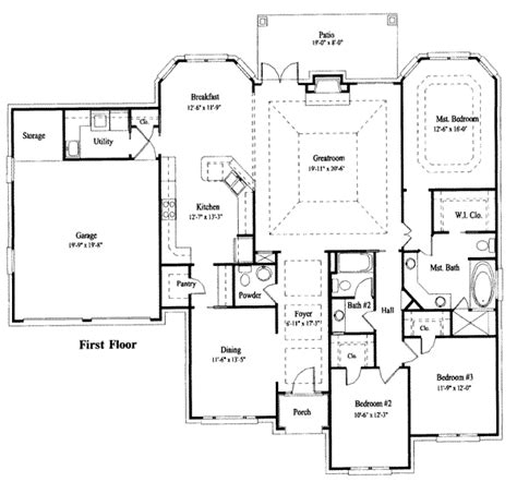 house design blueprints house 23731 blueprint details floor plans