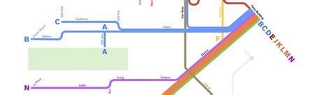 san francisco muni underground map muni streetcar names of the past and present visualized
