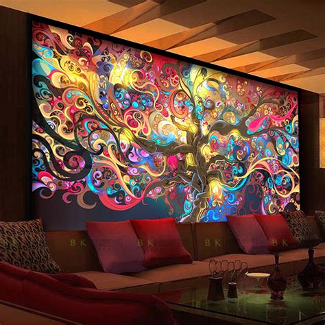 fashion wall murals aliexpress buy new arrival fashion large mural personalized mural wallpaper hotel ktv bar