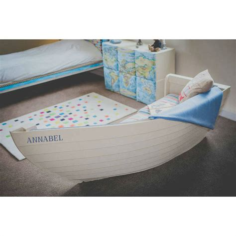 boat sofas children s personalised boat sofa by holly blue