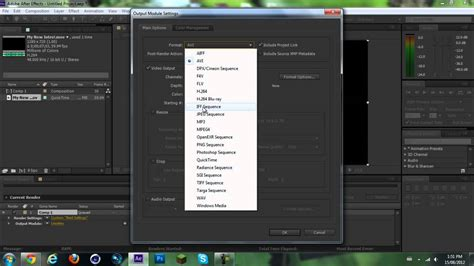 adobe premiere cs6 render settings how to make adobe after effects render faster