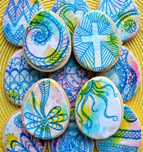 doodle easter egg doodle easter eggs cookie connection