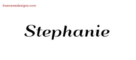 stephanie name tattoo design deco