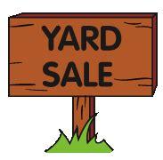 yard sale clipart clipart best