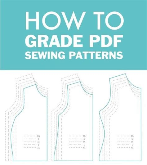 pattern grading for women s clothes pdf how to grade between sizes in pdf sewing patterns do it