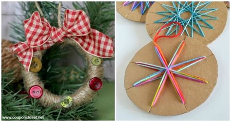 Child Handmade Ornament - handmade ornaments can make somewhat simple