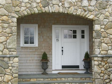 Cottage Front Door Cottage Front Door With Transom Window Glass Panel Door In Hingham Ma Zillow Digs Zillow