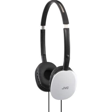 Headset Jvc jvc ha s160w flats the ear headphones brandsmart usa