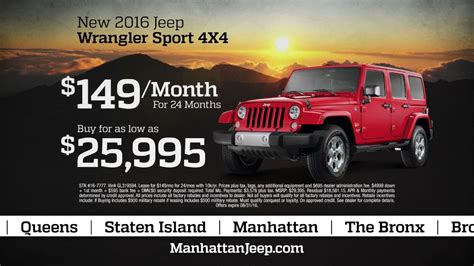 Manhattan Jeep Chrysler Dodge Ram by Manhattan Jeep Chrysler Dodge Ram Summer Clearance