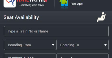 irctc seat availability enquiry by number berth availability seat availability irctc