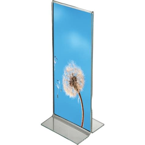 table top sign holder table top menu and sign holder t type