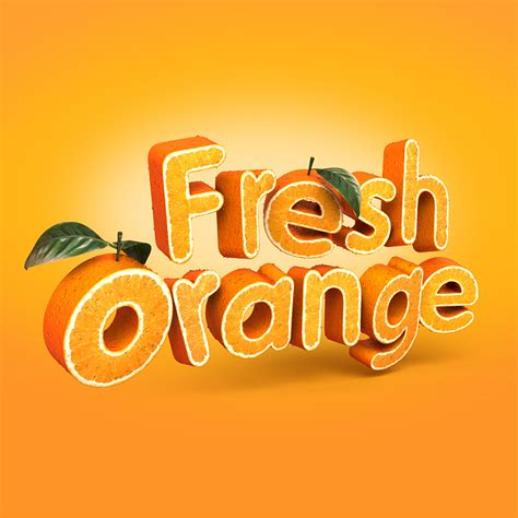 3d typography the foundry community forums fresh orange 3d typography