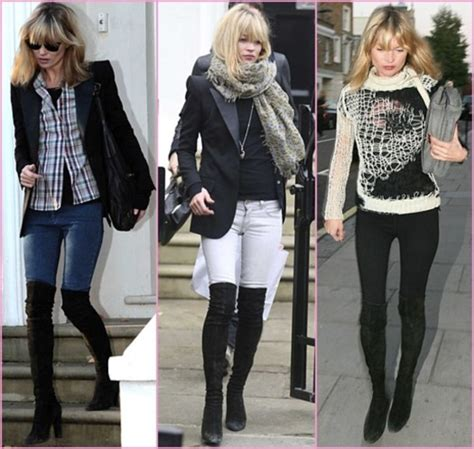 shoes boot kate moss boots black soft limb cool
