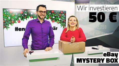 ebay mystery box was tun mit 50 euro ebay mystery box oder