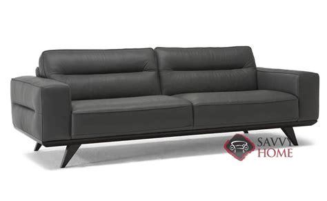 leather studio sofa tiber c006 leather studio sofa by natuzzi is fully