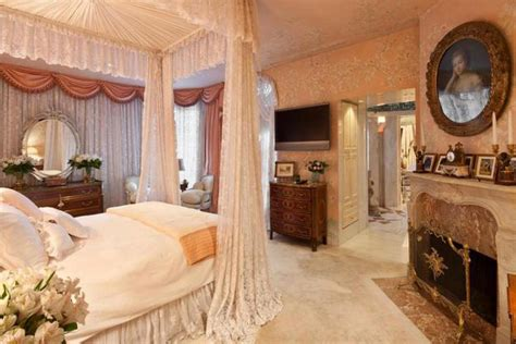 Inside The Bedroom by Inside Joan Rivers Opulent New York Apartment Overlooking