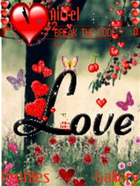 love u themes free download animated love theme