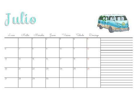 Calendario Julio 2015 Para Imprimir Marthibis Calendario 2015