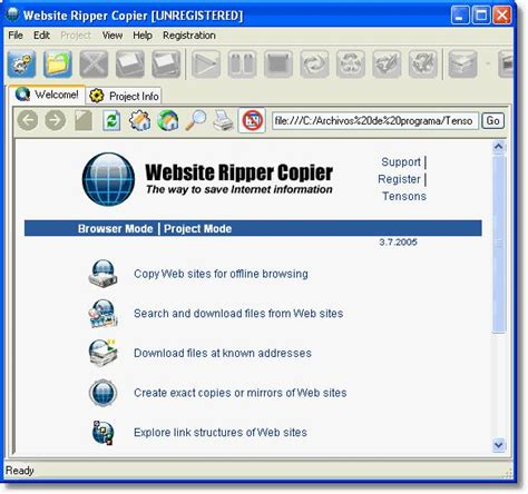 Tutorial Website Ripper Copier | download website downloader free download lengkap