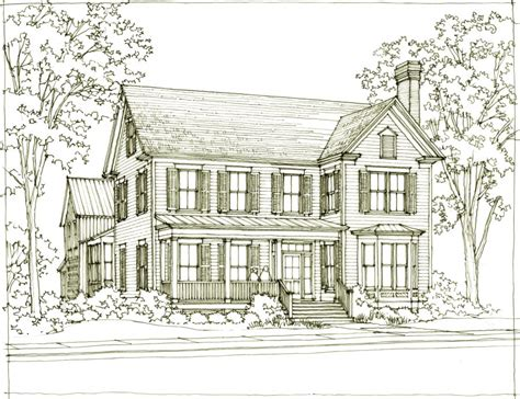 southern living carriage house plans our town plans