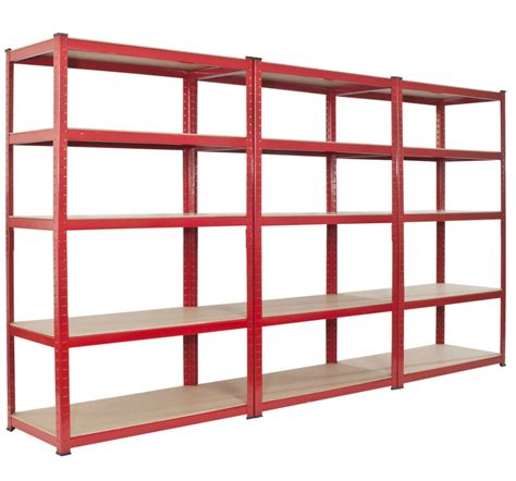 ikea garage shelving basement perfect free standing red wooden multiple