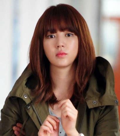 rambut bob model rambut sebahu ala artis korea
