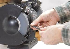 how to sharpen drill bits with a bench grinder sharpening drill bits