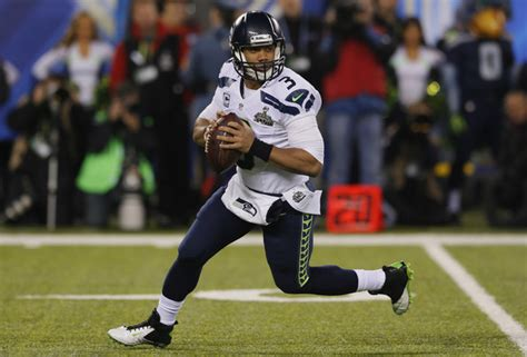 super bowl xlviii russell wilson has a why not us russell wilson pictures super bowl xlviii seattle