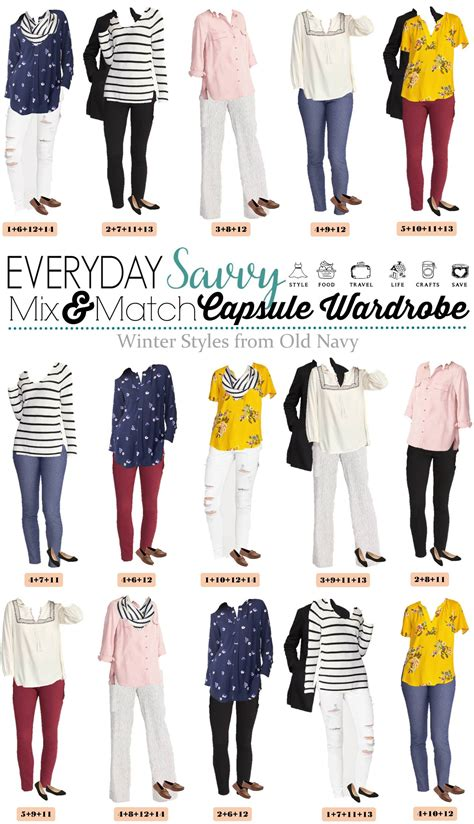 capsule wardrobe for retired women old navy winter to spring capsule wardrobe cute outfits