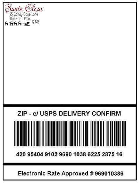 package shipping label template 5 professional sles