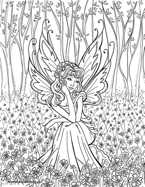 whimsical world 3 coloring book mythical sweetness fairies mermaids dragons and more books coloring pages