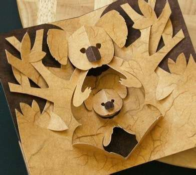 Paper Folding And Cutting Crafts - diy pop ups kirigami paper cutting patterns for crafting