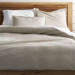 linen king duvet cover tessa duvet covers and pillow shams crate and barrel