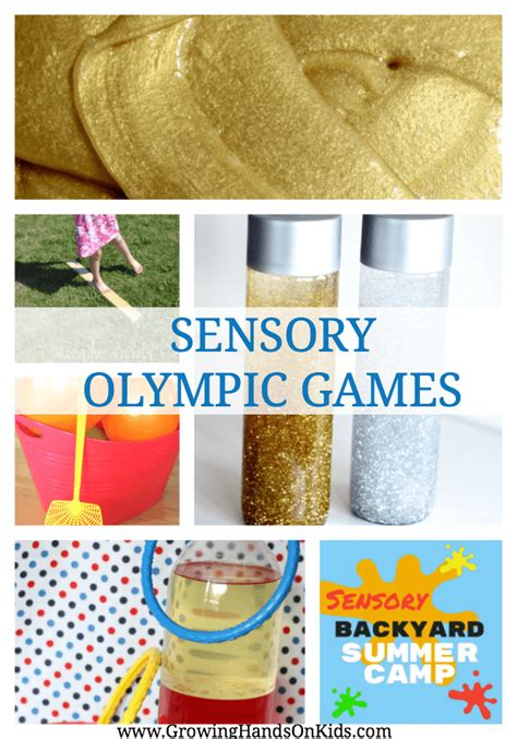 sensory olympic summer c at home ideas