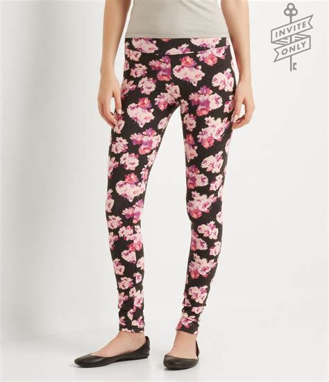 aeropostale pattern leggings invite only floral leggings aeropostale my style