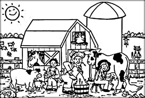 coloring pages animals a z farm animals coloring sheets color zini