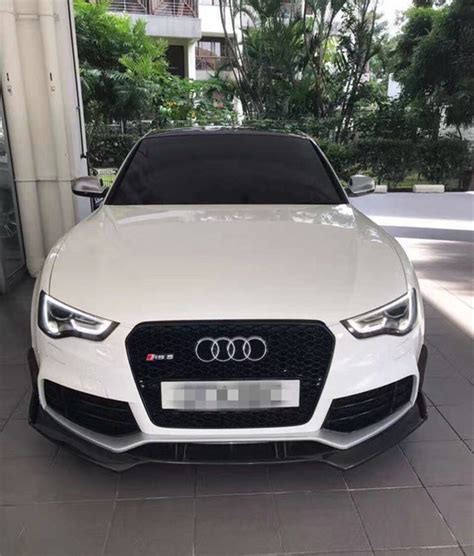 Audi S5 Sto Stange by Rs5 Frontsto 223 Stange Teiler Lippe Abt Stil Carbon