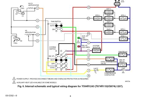 honeywell fan limit switch wiring diagram 41 wiring