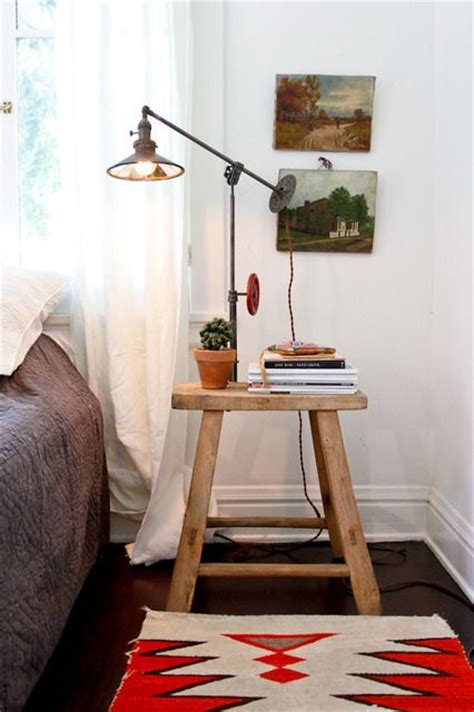 Stool As Bedside Table by Top 10 Alternatives To Nightstands Froy