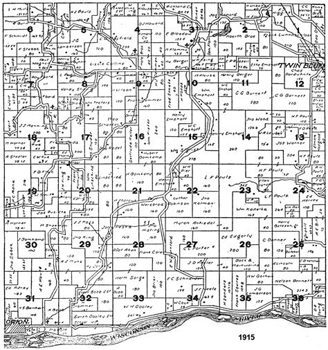 scott county section 8 columbia county arkansas plat map pictures to pin on