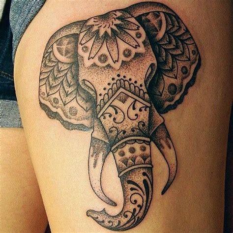 elephant tattoo black ink crew great animal pictures part 13 tattooimages biz
