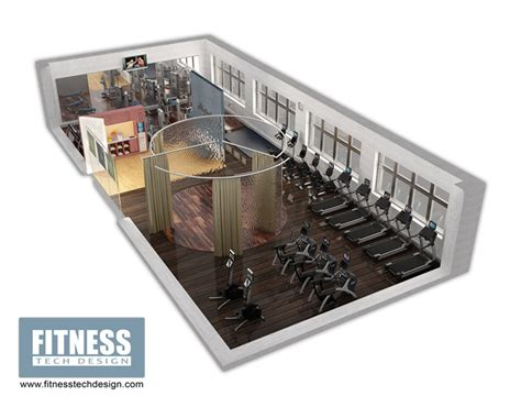 hotel gym layout 3d gym design 3d fitness layout portfolio fitness tech