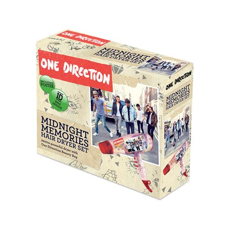Hair Dryer Bags Travel one direction midnight memories hair dryer with travel bag
