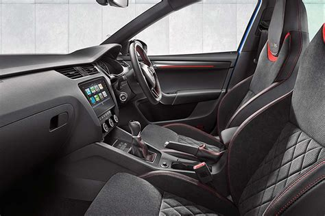 skoda octavia rs interior octavia rs interior interior ideas