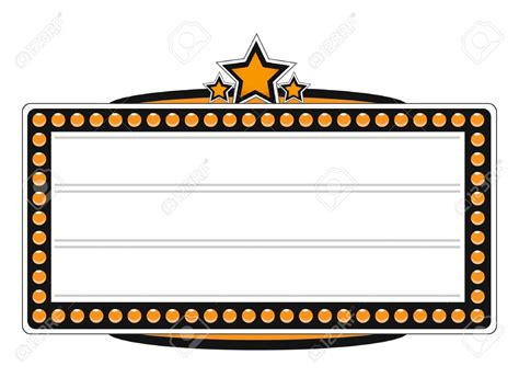 marquee clipart marquee clip image template images