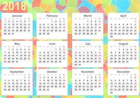 Free 2018 Wall Calendar Printable Calendar 2018 Wall Calendar 2018 Template